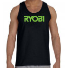 Tank Top Black Gildan Business Professional Tools Ryobi Tank Top